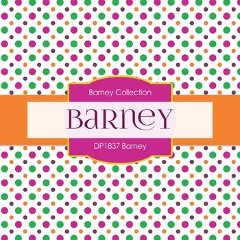 Digital Papers - Barney (DP1837)