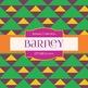 Digital Papers - Barney (DP1838)