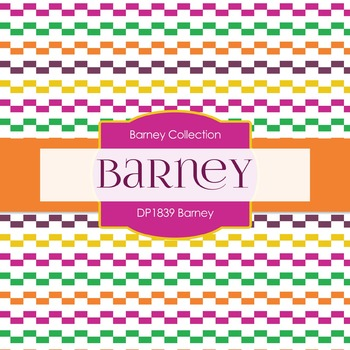 Digital Papers - Barney (DP1839)