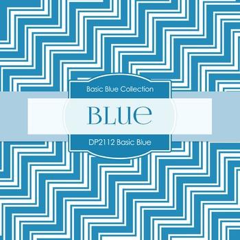Digital Papers - Basic Blue (DP2112)