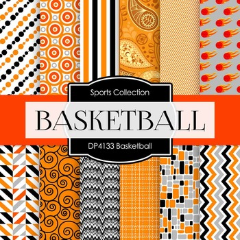 Digital Papers - Basketball (DP4133)