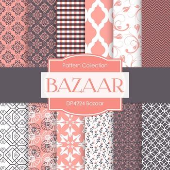 Digital Papers - Bazaar (DP4224)