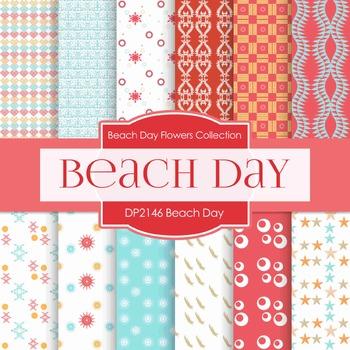 Digital Papers - Beach (DP2146)