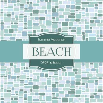 Digital Papers - Beach (DP2916)