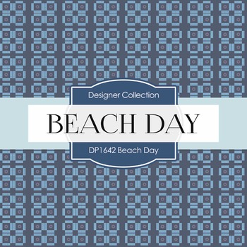 Digital Papers - Beach Day (DP1642)