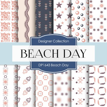 Digital Papers - Beach Day (DP1643)