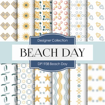 Digital Papers - Beach Day (DP1938)