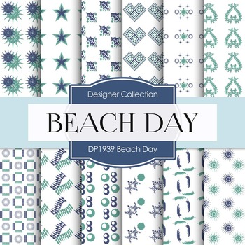Digital Papers - Beach Day (DP1939)
