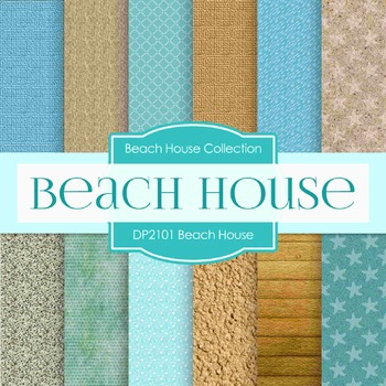 Digital Papers - Beach House (DP2101)