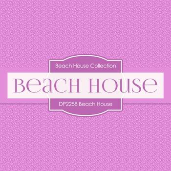 Digital Papers -  Beach House (DP2258)
