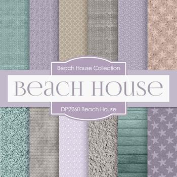 Digital Papers - Beach House (DP2260)