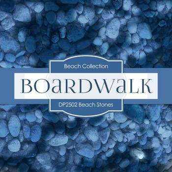 Digital Papers - Beach Stones (DP2502)