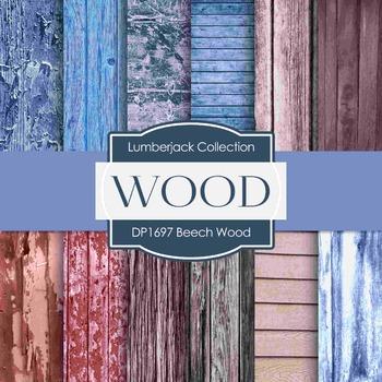 Digital Papers - Beech Wood (DP1697)
