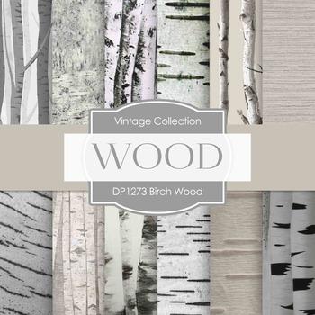 Digital Papers - Birch Wood (DP1273)