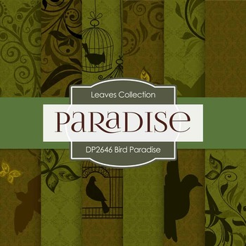 Digital Papers - Bird Paradise (DP2646)