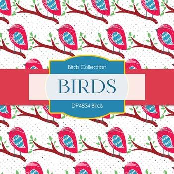 Digital Papers - Birds (DP4834)
