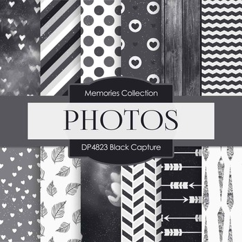Digital Papers - Black Capture (DP4823)