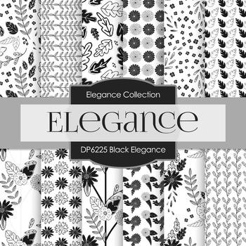 Digital Papers - Black Elegance (DP6225)