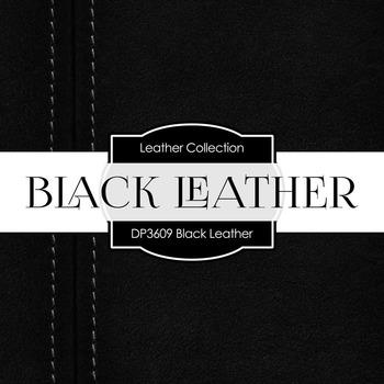 Digital Papers - Black Leather (DP3609)