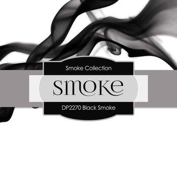 Digital Papers - Black Smoke (DP2270)