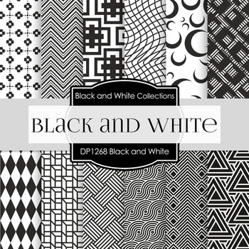 Digital Papers - Black and White (DP1268)