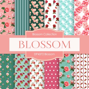 Digital Papers - Blossom (DP4372)