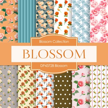 Digital Papers - Blossom (DP4372B)