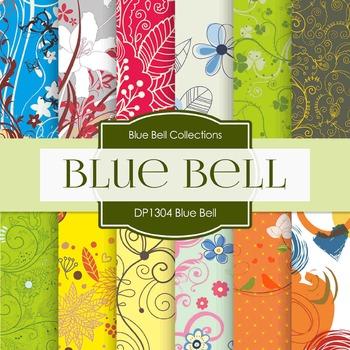 Digital Papers - Blue Bell (DP1304)