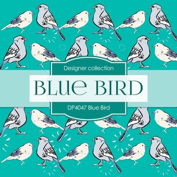 Digital Papers - Blue Bird (DP4047)