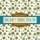 Digital Papers - Blue Brown (DP3398)