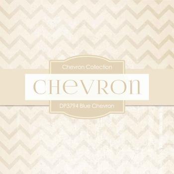 Digital Papers - Blue Chevron (DP3794)