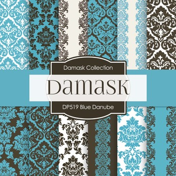 Digital Papers - Blue Danube (DP519)