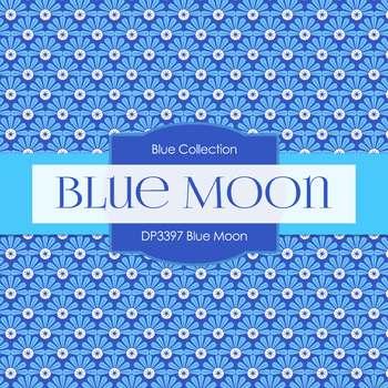 Digital Papers - Blue Moon (DP3397)