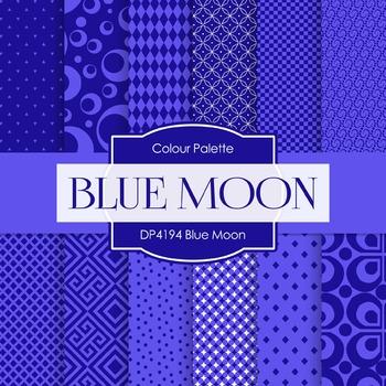 Digital Papers - Blue Moon (DP4194)