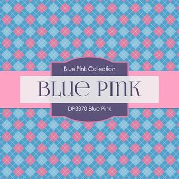 Digital Papers - Blue Pink (DP3370)