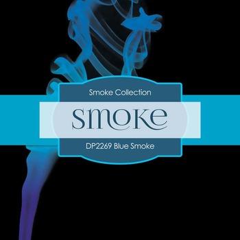 Digital Papers - Blue Smoke (DP2269)