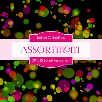 Digital Papers - Bokeh Assortment (DP1063)