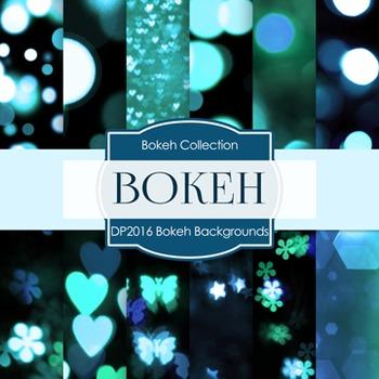 Digital Papers -  Bokeh Background (DP2016)