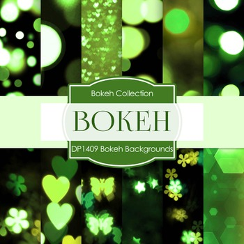 Digital Papers - Bokeh Backgrounds (DP1409)