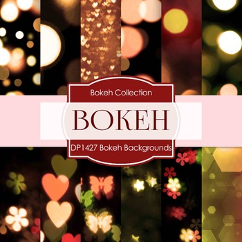 Digital Papers - Bokeh Backgrounds (DP1427)