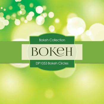 Digital Papers - Bokeh Circles (DP1053)