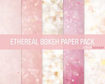 Digital Papers - Bokeh Textures 2