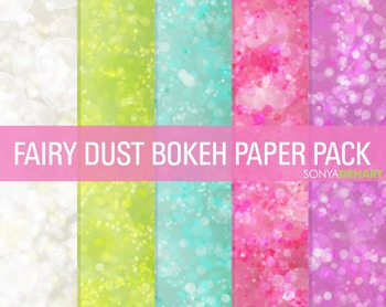 Digital Papers - Bokeh Textures 3