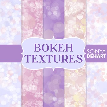 Digital Papers - Bokeh Textures 6