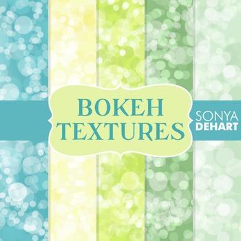 Digital Papers - Bokeh Textures 7
