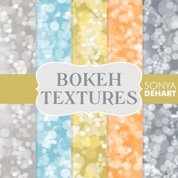 Digital Papers - Bokeh Textures 8