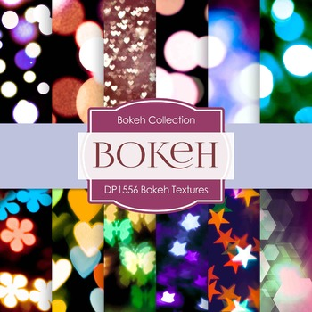 Digital Papers -  Bokeh Textures (DP1556)