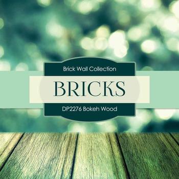 Digital Papers - Bokeh Wood (DP2276)