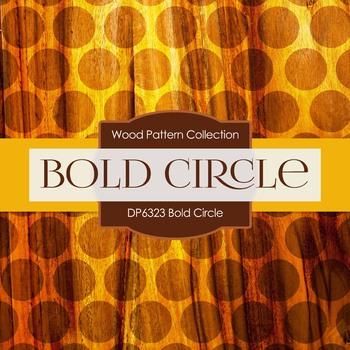 Digital Papers - Bold Circle (DP6323)