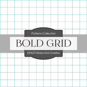 Digital Papers - Bold Grid Overlay (DP6273)